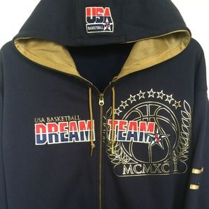 Nike USA Basketball Dream Team Zip-Up Hoodie - L